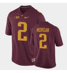 Men Minnesota Golden Gophers Tanner Morgan Replica Maroon College Football Jersey