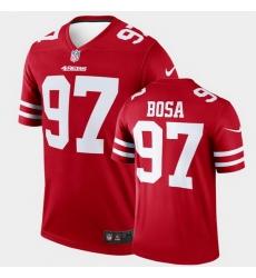 Men San Francisco 49Ers Nick Bosa Legend Scarlet Jersey