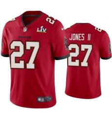 Men Ronald Jones Ii Buccaneers Red Super Bowl Lv Vapor Limited Jersey