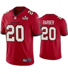 Men Ronde Barber Buccaneers Red Super Bowl Lv Vapor Limited Jersey