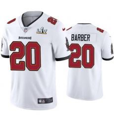Men Ronde Barber Buccaneers White Super Bowl Lv Vapor Limited Jersey