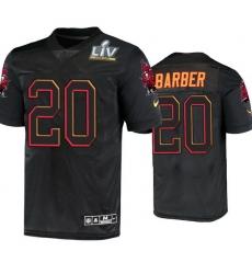 Men Ronde Barber Tampa Bay Buccaneers Black Super Bowl Lv Jersey