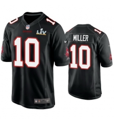 Men Scotty Miller Buccaneers Black Super Bowl Lv Game Fashion Jersey