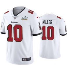 Men Scotty Miller Buccaneers White Super Bowl Lv Vapor Limited Jersey