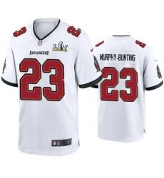 Men Sean Murphy Bunting Buccaneers White Super Bowl Lv Game Jersey