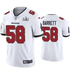 Men Shaquil Barrett Buccaneers White Super Bowl Lv Vapor Limited Jersey