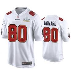 O.J. Howard Buccaneers White Super Bowl Lv Game Fashion Jersey