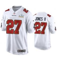 Ronald Jones Ii Buccaneers White Super Bowl Lv Game Fashion Jersey