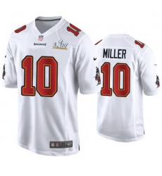 Scotty Miller Buccaneers White Super Bowl Lv Game Fashion Jersey