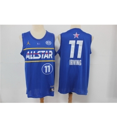 nets 11 Kyrie Irving 2021 All Star Game Blue Swingman Jersey