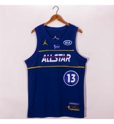 nets 13 james harden 2021 All Star Game Blue Swingman Jersey