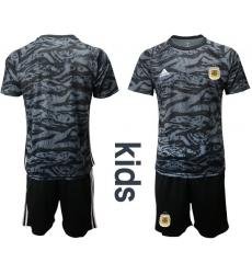 Kids Argentina Short Soccer Jerseys 003