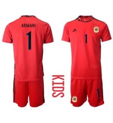Kids Argentina Short Soccer Jerseys 006