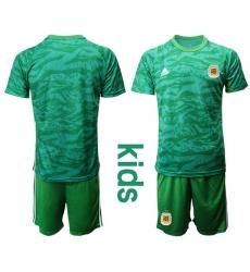 Kids Argentina Short Soccer Jerseys 019