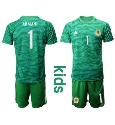 Kids Argentina Short Soccer Jerseys 020