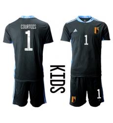 Kids Belgium Short Soccer Jerseys 003
