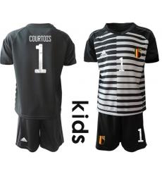 Kids Belgium Short Soccer Jerseys 004