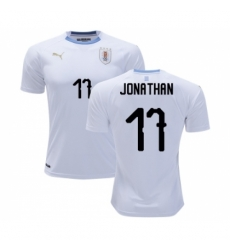 Uruguay #17 Jonathan Away Soccer Country Jersey