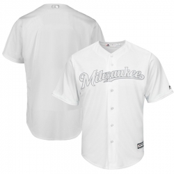 Brewers Blank White 2019 Players Weekend Player Jersey