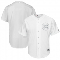 Cubs Blank White 2019 Players Weekend Player Jersey