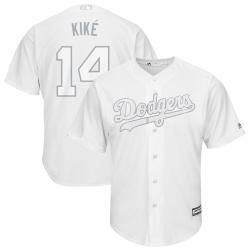 Dodgers 14 Enrique Hernandez Kike White 2019 Players Weekend Player Jersey