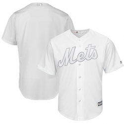 Mets Blank White 2019 Players Weekend Player Jersey