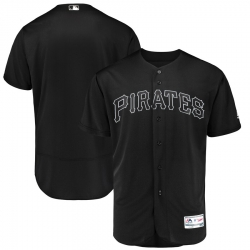 Pirates Blank Black 2019 Players Weekend Authentic Player Jersey