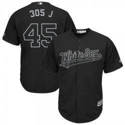 White Sox 45 Michael Jordan 305 J Black 2019 Players Weekend Player Jersey