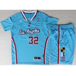 Los Angeles Clippers 32 Blake Griffin Blue Revolution 30 Swingman NBA Jersey Short Suits New Style