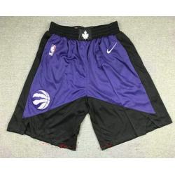 Men Men toronto raptors purple with black nike swingman 2021 earned edition stitched shor