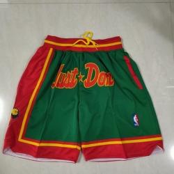 Men Seattle Supersonics Green Just Don Swingman Throwback Shorts