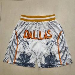 Men's Dallas Mavericks Black Transfer Shift Shorts