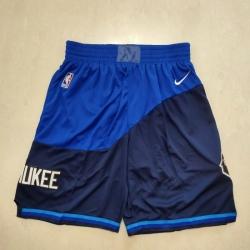 Men's Milwaukee Bucks Blue City Shorts