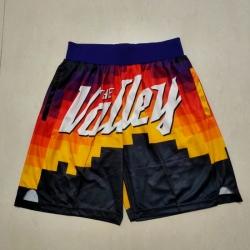 Men's Phoenix Suns Black Transfer Shift Shorts