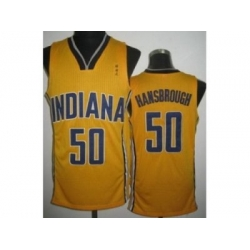 NBA North Carolina #50 tyler hansbrough yellow[revolution 30]