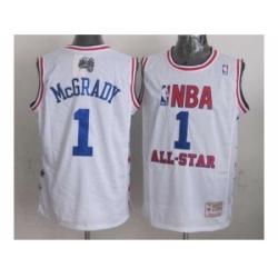 NBA 96 All Star #1 Mcgrady white