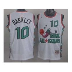 NBA 96 All Star #10 Barkley White Jerseys