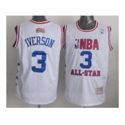 NBA 96 All Star #3 Iverson white
