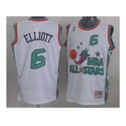 NBA 96 All Star #6 Elliott White Jerseys