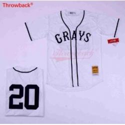 Grays Negro League 20 Baseball Jersey