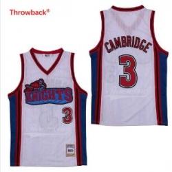 Lil Bow Wow LA Knights Movie Basketball Jersey White 3 Cambridge