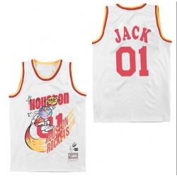 Men B&R Remix Jersey Rocket 01 Jack White Throwback Jersey