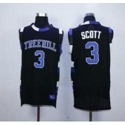 One Tree Hill Scott Ravens Movie jersey 3 Black