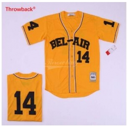 The Fresh Prince 14 Bel Air Academy Basketball Movie Yellow Baseball