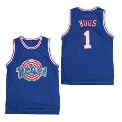 Tune Squad Space Movie jersey Blue 1 Bugs