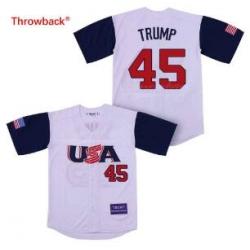 USA National Team 45 Trump Base Ball Jersey
