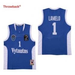 Vytautas 1 Lamelo blue jersey