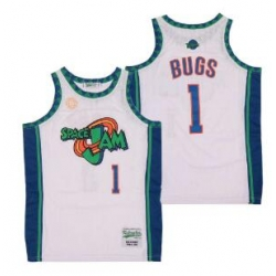 space jam Bugs Bunny 1 White Film Jersey