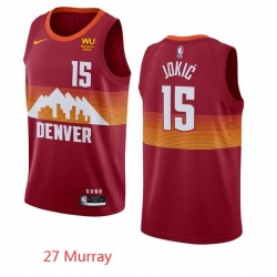 27 Murray Red Nuggets Jersey