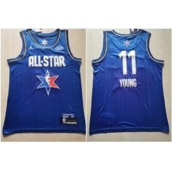 Hawks 11 Trae Young Blue 2020 NBA All Star Jordan Brand Swingman Jersey
